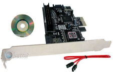 PCIe One IDE 2 SATA Port PCI-E Express Controller Card for PC