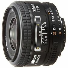 Excellent! Nikon AF FX NIKKOR 35mm f/2D - 1 year warranty