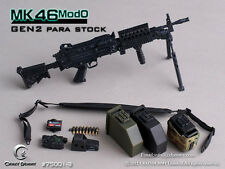 *Brand New* Crazy Dummy 1/6 Scale MK46MOD0 - Gen2 Para Stock (Black) *US Seller*