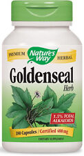 Goldenseal Herb - 180 Capsules - Nature's Way