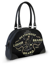 Liquorbrand Night Reaper Bowler Bag Gothic Rockabilly Handbag