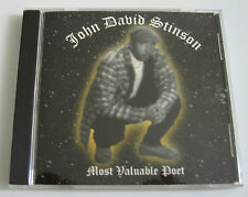 John David Stinson ‎– Most Valuable Poet [1997] SUPER RARE G-Funk