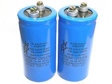 33000uF  63V F&T  GM-Series Hi-End Audio Grade Capacitor  x 2 pieces / Pair