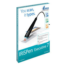 IRISPen Executive 7 Pen scanner.  Scan text directly into your popular software