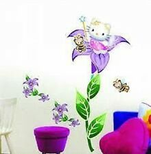 Hello KITTY Wall Sticker Nursery Décoration Grand ld1156