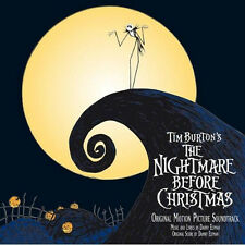 Nightmare Before Christmas ORIGINAL MOVIE SOUNDTRACK Tim Burton MUSIC New CD