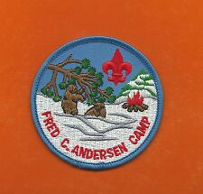 SCOUT BSA CAMP FRED C ANDERSEN INDIANHEAD NORTHERN STAR COUNCIL BEAR SNOW FIRE !