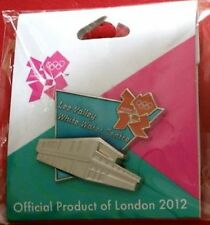 Kayak Olympic Pin Badge~Lee Valley White Water Centre~2012~Games Mark~Venue~NIP