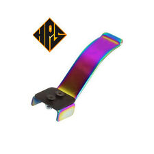 hps pro Stunt Scooter Flex Brake neo chrome oil slick fit wheels100mm 110mm peg