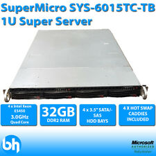 SuperMicro SYS-6015TC-TB 1U 2 Node SuperServer 4 x E5450 XEON QUAD CORE 32GB RAM