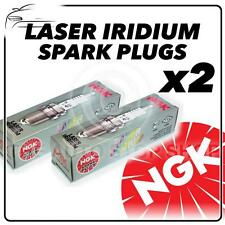 2x NGK SPARK PLUGS Part Number KR8DI Stock No. 4742 Laser Iridium New Genuine