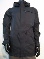 NWT Mens M Mountain Hardwear Burdock Plasmic Rain Jacket Black OM5960-010 $160