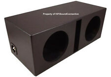 Car Audio Bed Lined Ported Dual 15 Sub Box Stereo Speaker Subwoofer Enclosure
