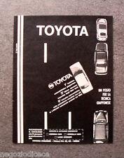 O983 - Advertising Pubblicità -1971- TOYOTA , UN POSTO PER LA TECNICA GIAPPONESE