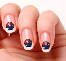 20 Nail Art Decals Transfers Stickers #167 - World Cup Australia flag icon