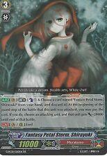 Cardfight Vanguard Tarjeta: tormenta de pétalos de fantasía, Shirayuki-G-RC01/020EN RR