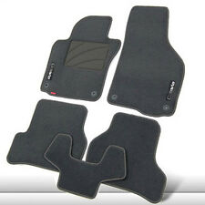 5pcs Premium Fabric Nylon Washable Car Floor Mats Carpet For Skoda Octavia