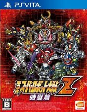 USED PS VITA PSV Super Robot Wars Taisen Z 3nd 3rd Jikoku-Hen FREE SHIPPING JPN