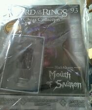 Eaglemoss LORD of The RINGS CHESS SET 3 Magazine & figure 93 Mouth of Sauron