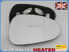 Wing Mirror Glass Seat Ibiza 2008-2016 Wide Angle HEATED Right Side #1050
