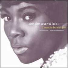 I Want To Be With You-Mercury/ - Dee Dee Warwick (2001, CD NEUF)