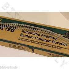 "Hitachi 17511 1000ct SuperDrive Cement & Hardboard 8x1-1/4"" Collated Screws"