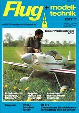 FMT8307 Bauplan MT-874 TYRANN von Schwecke, eine Delta-Ente + FMT 7/1983