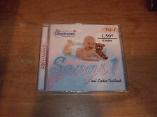 Rossmann Babydream Songs 1 Vol. 1 mit Lieder Textbuch (Music CD 2001) NEW