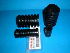 YAMAHA ENDURO FOOTREST 4PC SET  RT1, RT2, RT3, DT1, DT2, DT3, CT1, CT2, AT1  NOS