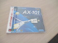 AX 101 AX-101 AX 101 SHOOT SEGA MEGA CD JAPAN IMPORT NEW FACTORY SEALED!