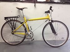 Vintage Slingshot Road Bike.Single speed,Campy Record Track Hubs without logos