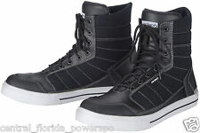 Cortech Vice WP Heavy Duty Motorcycle Riding Shoes High Tops Size 10 Black
