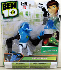 "Ben 10 Alien Collection ARTICGUANA 4"" Figure #32253 Bandai Revolution Ultimatrix"