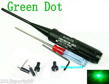 Green Laser Bore Sight kit .22 to .50 Caliber for Rifles Handgun Boresighter &