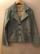 Tulle Anthropologie Light Blue Velvet Blazer, Size S