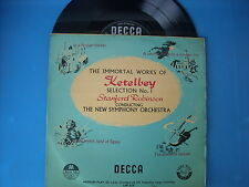 LP STANFORD ROBINSON THE IMMORTAL WORKS OF KETELBEY N. 1 NEW SYMPHONY ORCHESTRA.