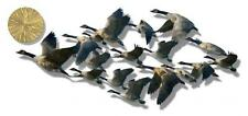Geese Birds Metal Wall Art Home Decor Wall Sculpture
