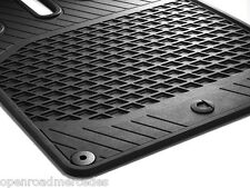 GENUINE OEM SMART CAR ALL SEASON FLOOR MATS IN BLACK 08-15 FORTWO A451 C451