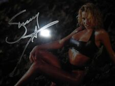 wwe autographed sunny 8-10 photo by leaf