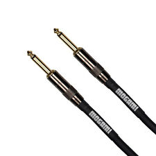 "Mogami Platinum Guitar Bass Keyboard Instrument Cable 1/4"" TS Straight 6 ft"
