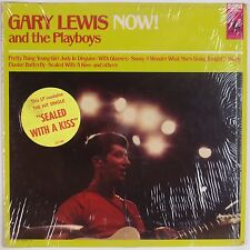 GARY LEWIS & THE PLAYBOYS: Now! SHRINK USA Orig w/ Hype Sticker LP VG++ Superb