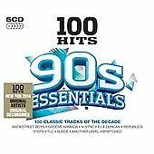 V/A-100 HITS-90S ESSENTIAL-CD (5) 100 HITS NEW