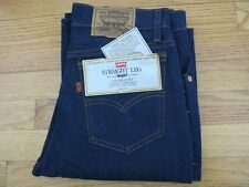VINTAGE ORIGINAL DEADSTOCK LEVIS 718 STRAIGHT LEG JEANS W30 L30 MADE IN USA EX