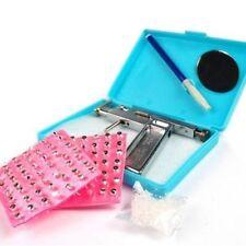 1 Kit Ear Nose Navel Body PIERCING GUN Tool Kit Free 98 studs Professional set