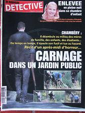Détective n°1031 (19 juin 2002) Chambéry : carnage dans un jardin public