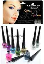 Italia Deluxe Glitter Eyeliner Full Set of 9 Colors *Glitter Liquid Eyeliners*