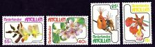 NETHERLANDS ANTILLES 1978 Flowers 4v set MNH  @S4100
