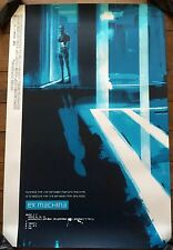 Ex Machina Movie Poster Art Print Mondo Jock Sci-Fi Alex Garland Only 225 Made!