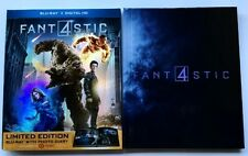 FANTASTIC 4 BLU RAY DIGIBOOK TARGET EXCLUSIVE + SLIPCOVER SLEEVE FREE SHIPPING