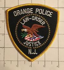 Orange Police Department Patch – New Jersey – Law – Order – Justice